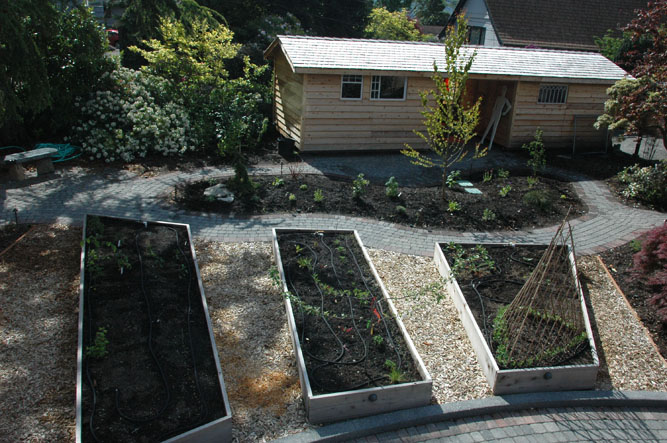 Elliott Bay Landscape Design Inc. - Portfolio: Wood